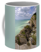 Jurassic Coast From Lulworth Cove Coffee Mug