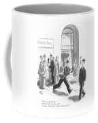 Just A Moment Now And You Will Hear From Mr Coffee Mug