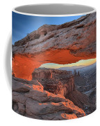 Just Before Sunrise At Canyonlands Coffee Mug