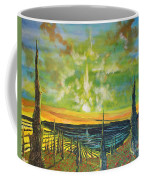 Just Beyond The Sea Coffee Mug