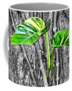 Just Green 2 By Diana Sainz Coffee Mug