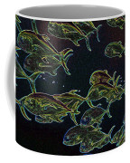 Mad Fish Abstract Coffee Mug