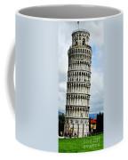 Just Leaning Not Falling Coffee Mug