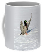 Just Like Skiing Coffee Mug