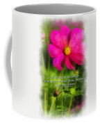 Just Living Is Not Enough 01 Coffee Mug