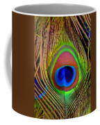 Just One Tail Feather Coffee Mug