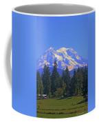 Just Over The Hill Mt. Rainier Coffee Mug