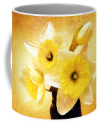 Just Plain Daffy 1 - Flora - Spring - Daffodil - Narcissus - Jonquil Coffee Mug