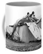 Just Plane Exhausted Coffee Mug