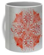 Just Red Mandala Coffee Mug