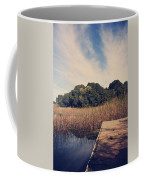 Just To Make This Dock My Home Coffee Mug by Laurie Search