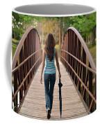 Just Walk Away Renee Coffee Mug by Laura Fasulo