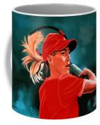 Justine Henin  Coffee Mug by Paul Meijering