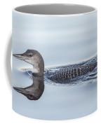 Juvenile Loon Reflection Coffee Mug