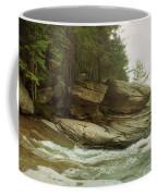 Kaaterskill Falls In Autumn, Catskill Coffee Mug