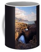 Ka'ena Point Natural Bridge Coffee Mug