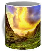 Kahana Valley Sunset Coffee Mug