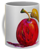 Kaleidoscope Apple -- Or -- Apple For The Teacher  Coffee Mug