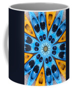 Kaleidoscope Canoes Coffee Mug by Amy Cicconi