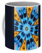Kaleidoscope Canoes Coffee Mug