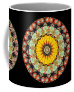 Kaleidoscope Ernst Haeckl Inspired Sea Life Series Triptych Coffee Mug by Amy Cicconi