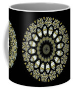 Kaleidoscope Ernst Haeckl Sea Life Series Steampunk Feel Triptyc Coffee Mug