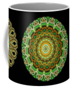 Kaleidoscope Ernst Haeckl Sea Life Series Triptych Coffee Mug by Amy Cicconi