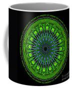 Kaleidoscope Of Glowing Circuit Board Coffee Mug by Amy Cicconi