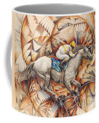 Kaleidoscope Rider Coffee Mug