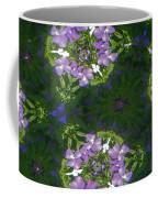 Kaleidoscope Violets Coffee Mug
