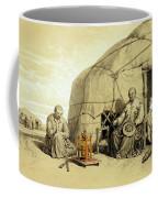 Kalmuks With A Prayer Wheel, Siberia Coffee Mug