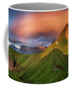 Kalsoy Island And Kallur Lighthouse Coffee Mug