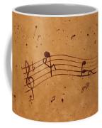 Kamasutra Abstract Music 2 Coffee Painting Coffee Mug