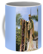 Kamehameha Covered In Leis Coffee Mug