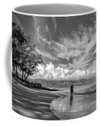 Kanahna Beach Maui Hawaii Panoramic Coffee Mug