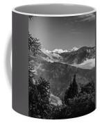 Kanchenjunga Monochrome Coffee Mug