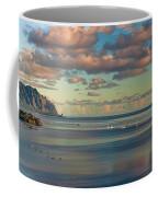 Kaneohe Bay Panorama Mural Coffee Mug