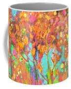 Kangaroo Flower In Spring Bubbles Coffee Mug