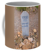 Kansa Kid Killed In A Stampede Coffee Mug
