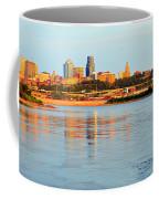 Kansas City Downtown From Kaw Point Coffee Mug