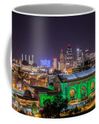 Kansas City In Lights Coffee Mug