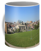 Kansas City Skyline And Park Coffee Mug