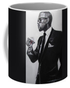 Kanye West - Maga Hat Coffee Mug by Eric Dee