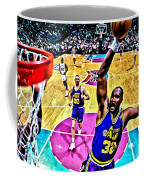 Karl Malone Coffee Mug by Florian Rodarte