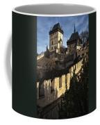 Karlstejn Castle Color Coffee Mug