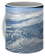 Karman Vortex Cloud Streets From Space Coffee Mug