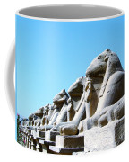 Karnak Temple Statue 14 Coffee Mug