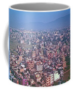 Kathmandu From The Airplane-nepal  Coffee Mug