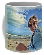Katie And The Beach Coffee Mug