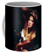 Katie White Hat Coffee Mug